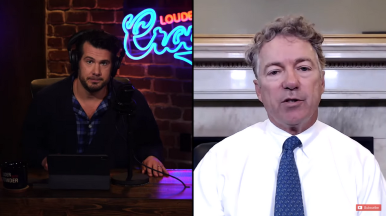 Sen. Rand Paul tells Steven Crowder how 'corporate America' is actually funding the riots that are destroying America's cities