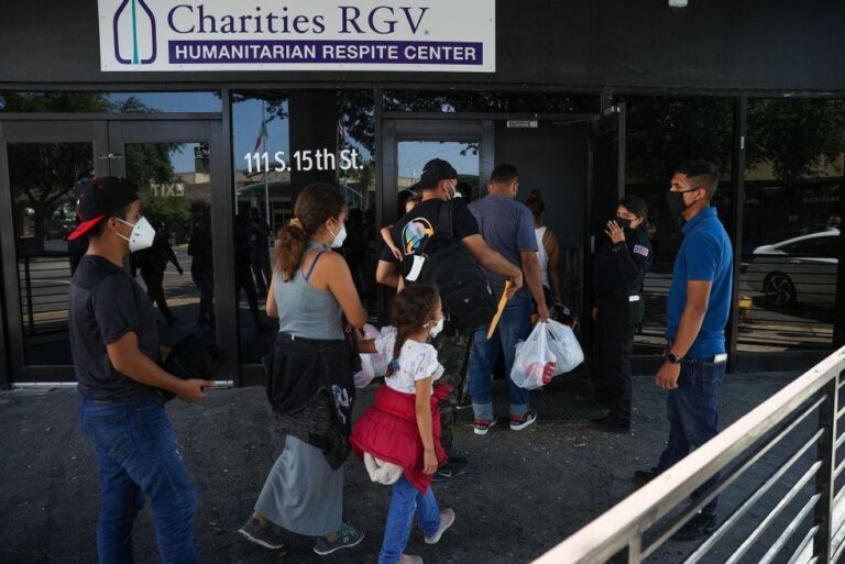 City of McAllen, Texas, says Biden administration released more than 7,000 COVID-positive migrants into the community