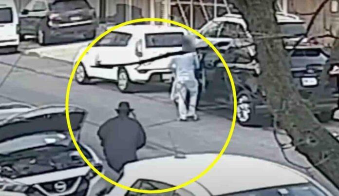 VIDEO: Hit man dressed in Hasidic-like disguise shoots reformed gangster in back of head in broad-daylight NYC execution