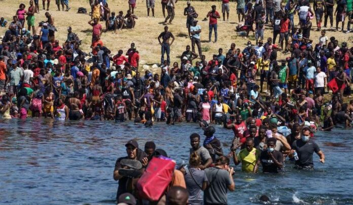 Biden admin promised to send back Haitian migrants, but they're being released into US on 'very, very large scale'