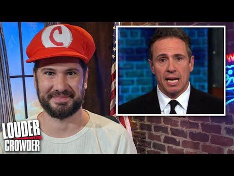 LOUDER WITH CROWDER: Chris Cuomo Gets 'MeTooed'