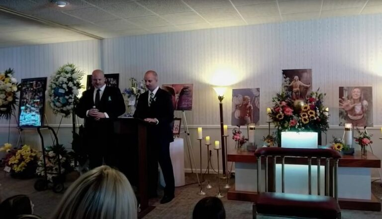 Gabby Petito's father delivers heartrending eulogy during daughter's funeral, warns of toxic relationships