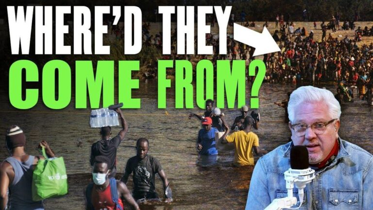 Glenn Beck: Here's how the 15k Haitians got to our border and WHO they are