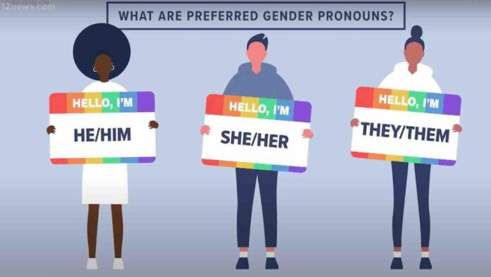 College threatens 'action could be taken' against students who fail to use others' preferred pronouns — and one detractor calls policy 'nuts'