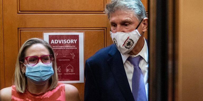 Manchin Admits He Is Totally Out Of Synch With The Democrat Party, Sinema Doesn't Back Down