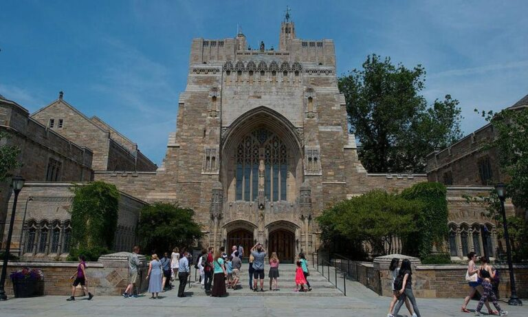 Yale Law School student bucks outrage crowd who accused him of racism over party invitation